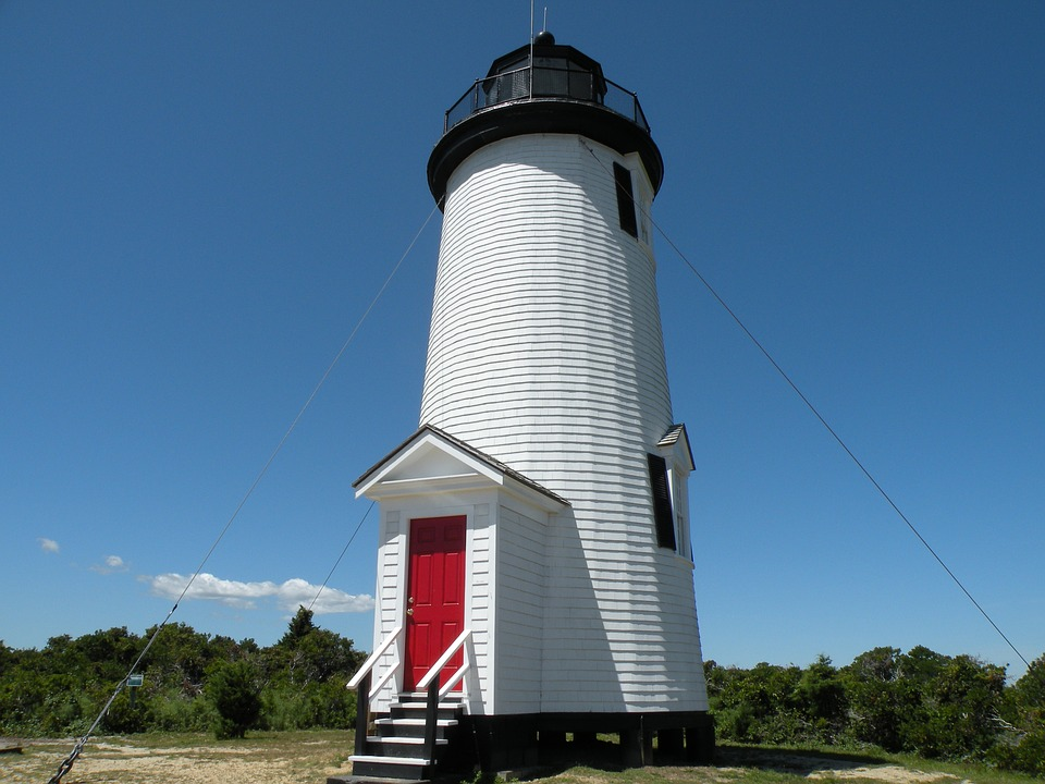 Cape Pope Lighthouse on Chappaquiddick