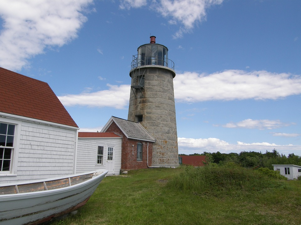 Mohegan Island Lighthouse